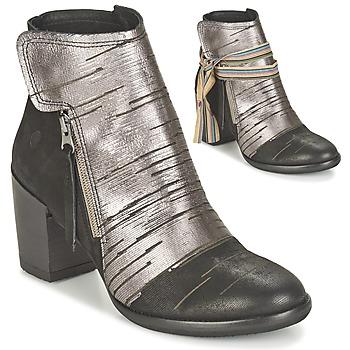 Bottines / Boots Felmini CARMEN Noir / Argenté 350x350