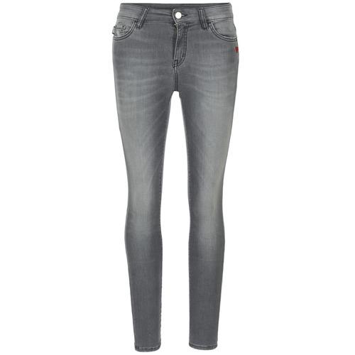 Vêtements Femme Jeans slim Love Moschino MANI Gris