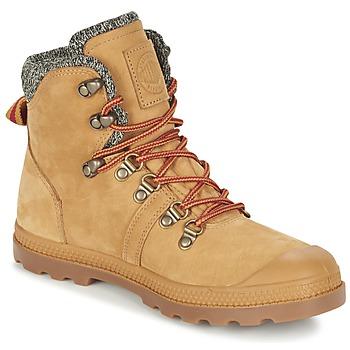 Bottines / Boots Palladium PALLABROUSSE HIKING Miel 350x350