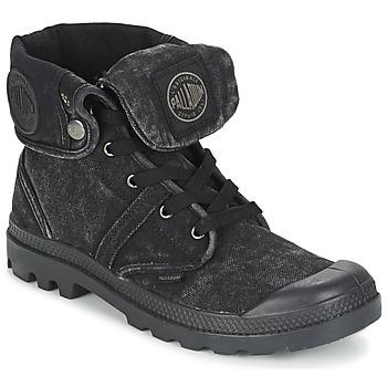 Bottines / Boots Palladium US BAGGY Noir métallique 350x350