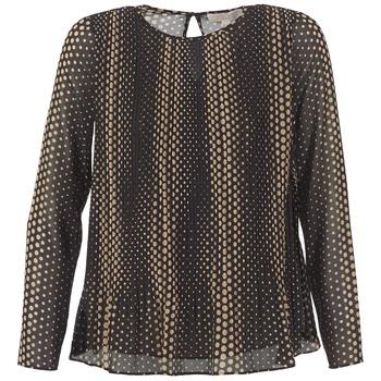 Vêtements Femme Tops / Blouses MICHAEL Michael Kors OMBOBO Noir / Beige