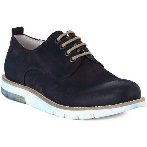Chaussures Homme Richelieu Pawelk's PAWELKS CAMOSCIO EXEL Blu