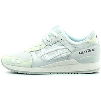 Chaussures Homme Baskets basses Asics Gel Lyte III Monochrome White