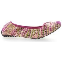 Chaussures Femme Ballerines / babies Elizabeth Stuart Ballerines tissu  fushia Fushia