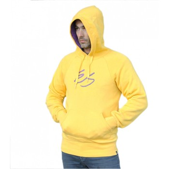 Vêtements Homme Sweats Es Hoody Sweat capuche   Fuzz script yellow Jaune