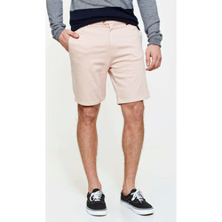 Vêtements Homme Shorts / Bermudas Loreak Mendian Bermuda Chino  Sharper Regular Fit Sat Stretch Corail Ho Corail