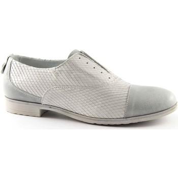 Chaussures Femme Richelieu Café Noir CAF-EB630-GH Bianco