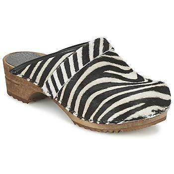Chaussures Femme Sabots Sanita CAROLINE Zèbre