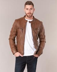 Vêtements Homme Vestes en cuir / synthétiques Oakwood 60901 Cognac
