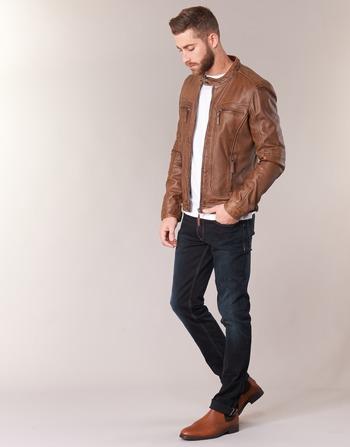 Casey Vêtements CuirSynthétiques Vestes En Homme Oakwood Cognac kuPTOXwlZi