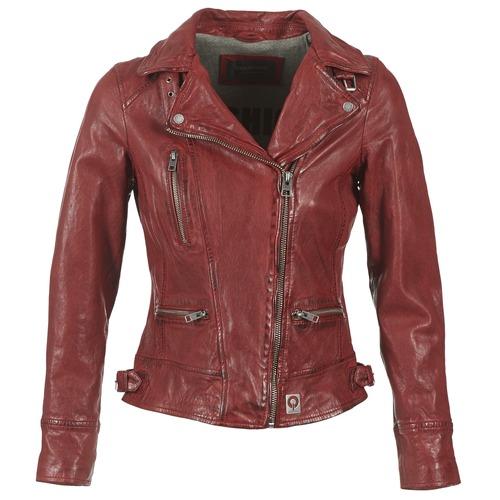 Vêtements Femme Vestes en cuir / synthétiques Oakwood VIDEO Rouge