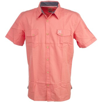 Vêtements Homme Chemises manches courtes Oxbow Castry peche popline Orange