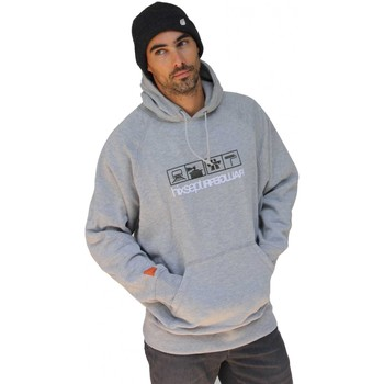 Sweats Hixsept Sweat capuche Vintage graffiti Collector  Picto Gris