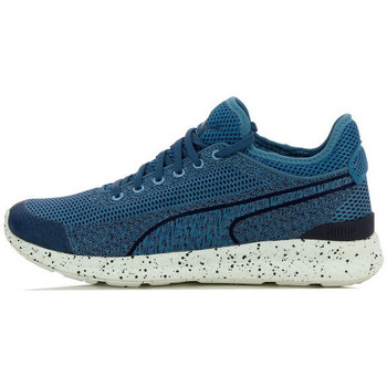Chaussures Homme Baskets basses Puma Ignite Sock Woven - Ref. 360897-01 Bleu
