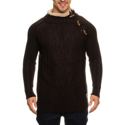 Pulls Beststyle Pull homme marron classe