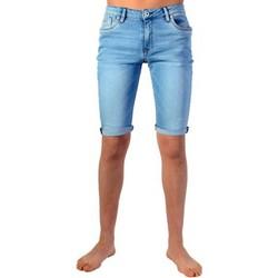Vêtements Garçon Shorts / Bermudas Kaporal Bermuda Enfant Dule Fripe Bleu