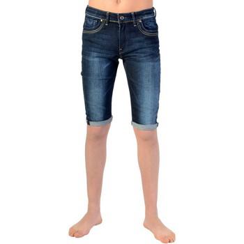 Vêtements Garçon Shorts / Bermudas Kaporal Bermuda Kaporal Enfant Rean Rags Bleu