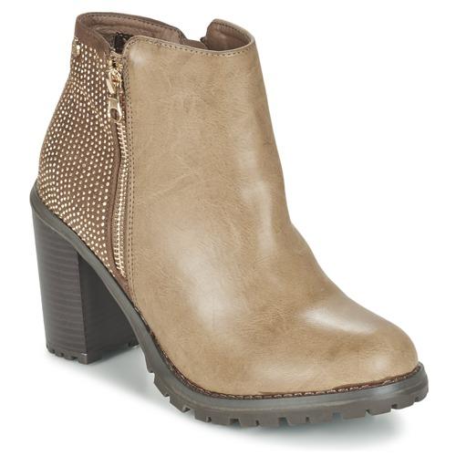 Chaussures Femme Bottines Xti LOUNI Taupe