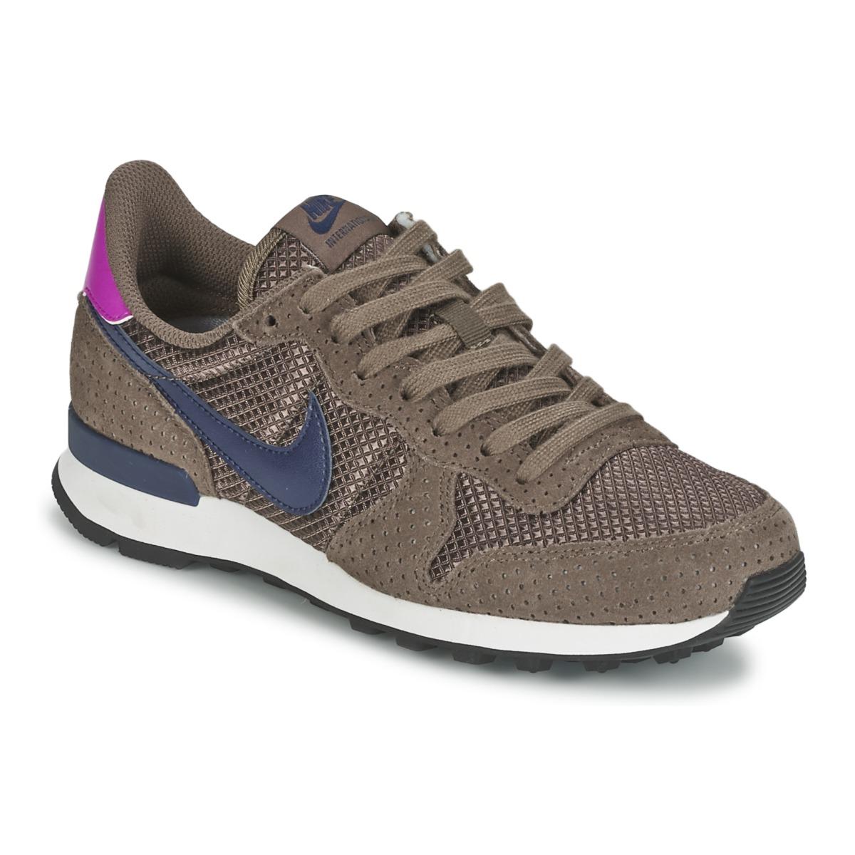 Nike INTERNATIONALIST PREMIUM W Marron
