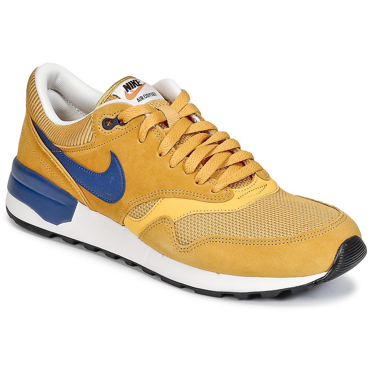 Nike AIR ODYSSEY Jaune / Bleu