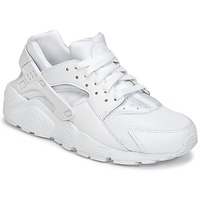 Chaussures Garçon Baskets basses Nike HUARACHE RUN JUNIOR Blanc