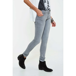 Vêtements Femme Jeans slim Cheap Monday Jeans  Zip Low Slim Gris Femme Gris