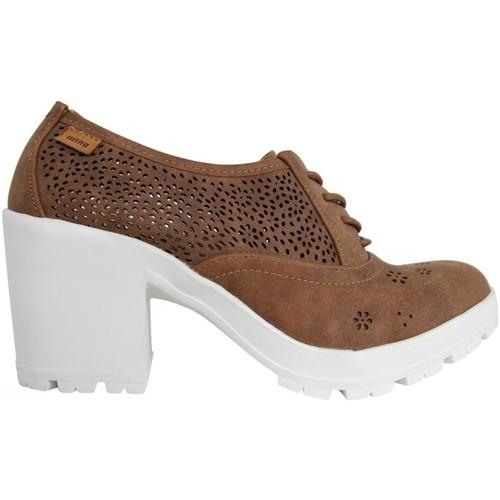 Mtng Et pieds Marrón 52284 Sandales Nu Femme cjL5ARqS34