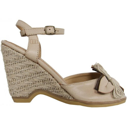 Chaussures Femme Espadrilles MTNG 53292 Beige