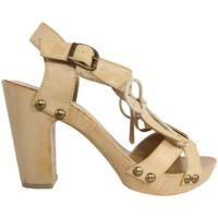 Chaussures Femme Sandales et Nu-pieds MTNG 53251 Beige