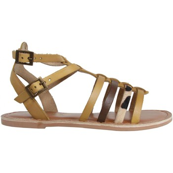 Chaussures Fille Sandales et Nu-pieds MTNG 83512 Beige