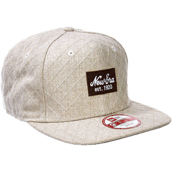 Casquettes New Era Casquettes  Quilted Patch Beige Homme