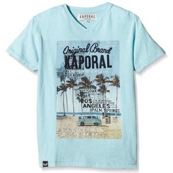 T-shirts manches courtes Kaporal Tee-Shirt Dela  bleu ciel