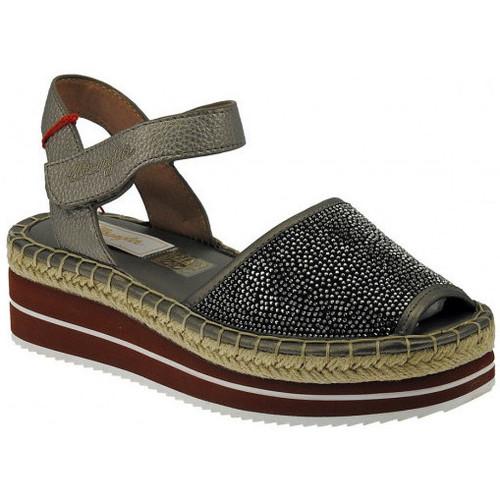Chaussures Femme Sandales et Nu-pieds Wrangler Campesina  spuntata zeppa palm kong diamond Talon compensé