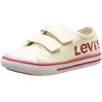 Chaussures Garçon Baskets basses Levi's 471230 beige