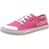 Chaussures Fille Baskets basses Levi's 471130 rose