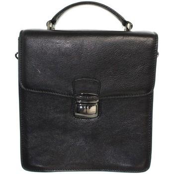 Sacs Homme Pochettes / Sacoches Arthur & Aston Sacoche Arthur et Aston en cuir ref_ast39311-A-Noir Noir