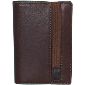 Sacs Homme Portefeuilles David William Portefeuille  en cuir ref_lhc39319-marron Marron