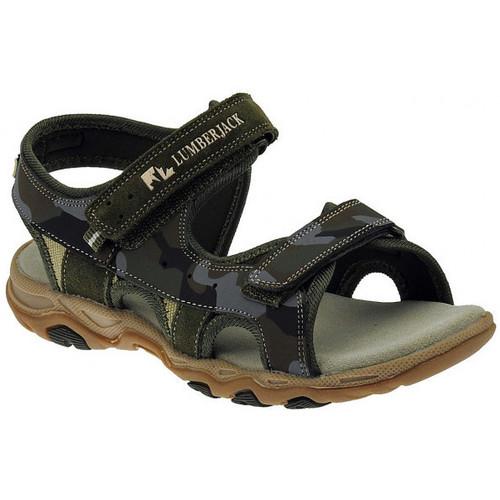 Chaussures Garçon Sandales et Nu-pieds Lumberjack Levi sandalo strappo aperto Sandales