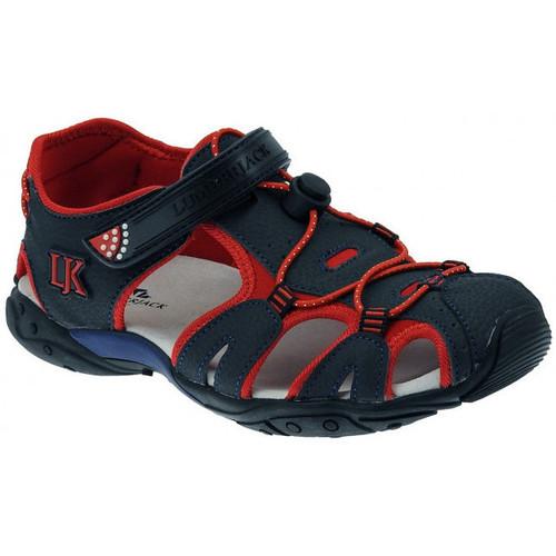 Chaussures Garçon Sandales et Nu-pieds Lumberjack Wild sandalo ragno strappo chiuso Sandales