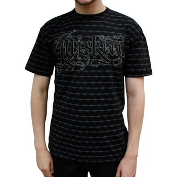 T-shirts & Polos Miskeen Tshirt  Barbwire noir
