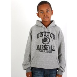 Vêtements Garçon Sweats Divers Sweat capuche enfant Marshall  Gris-Noir Gris