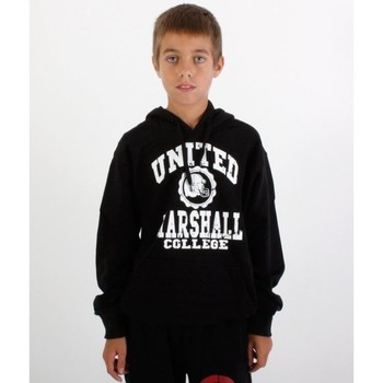 Vêtements Garçon Sweats Divers Sweat capuche enfant Marshall Noir-blanc Noir