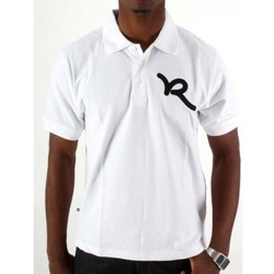 Vêtements Homme Polos manches courtes Rocawear Polo  Logo Blanc