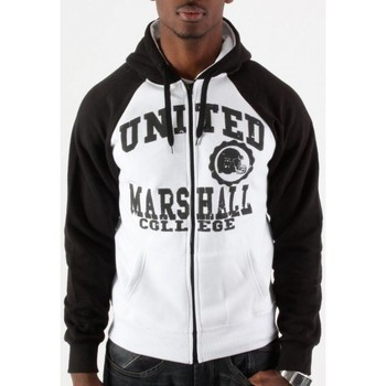 Vêtements Homme Sweats Divers Hoodie Marshall Bicolor blanc, noir Blanc
