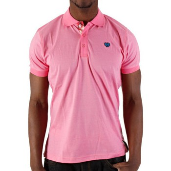 Vêtements Homme T-shirts & Polos Phat Farm Polo  Rose Clair melange Rose