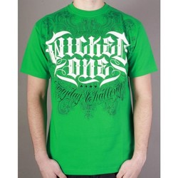 Vêtements Homme T-shirts & Polos Wicked One Tshirt  Hood vert Vert