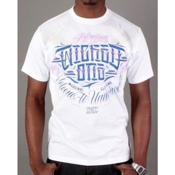 Vêtements Homme T-shirts manches courtes Wicked One Tshirt  Warrior blanc Blanc