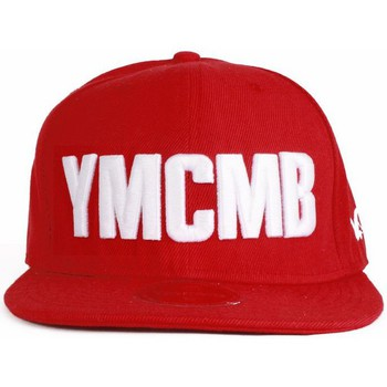 Casquettes Ymcmb Casquette snapback  rouge, blanc