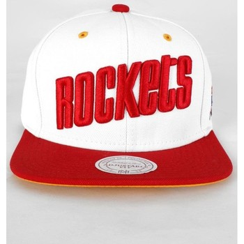 Accessoires textile Homme Casquettes Mitchell And Ness Casquette Snapback  Rockets Finals95 Blanc Blanc
