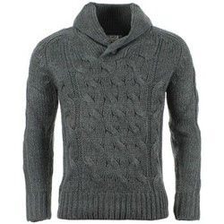Vêtements Homme Pulls Crossby Pull  Twin Gris Anthracite Gris